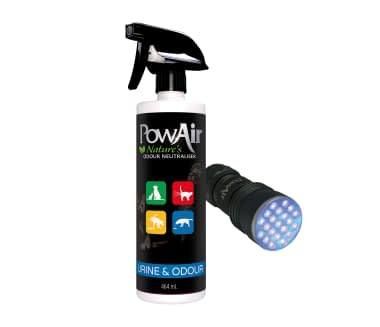 PowAir Pet Pack Urine and Odour Plus Urine Torch