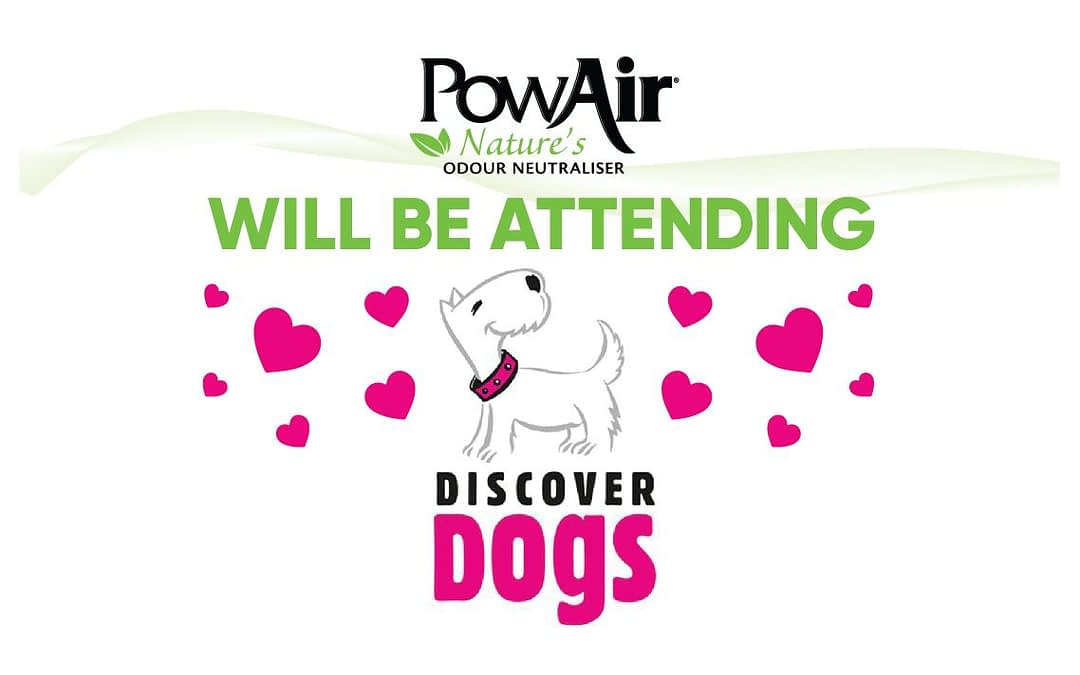 Visit PowAir at the Discover Dogs show