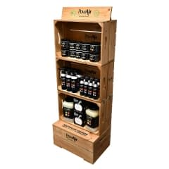 PowAir-Wooden-Display-Unit